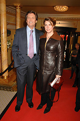 LORD BRAGG and his daughter ALICE at the South Bank Show Awards held at The Dorchester, Park Lane, London on 29th January 2008.<br />