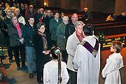 Nederland, Gendt, 21-2-2007..Met aswoensdag, de woensdag na carnaval, wordt het askruisje gehaald. Het is de start van de vastenperiode in de Katholieke kerk. ..Foto: Flip Franssen/HollandseHoogte