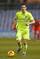 Brighton and Hove Albion's Lewis Dunk