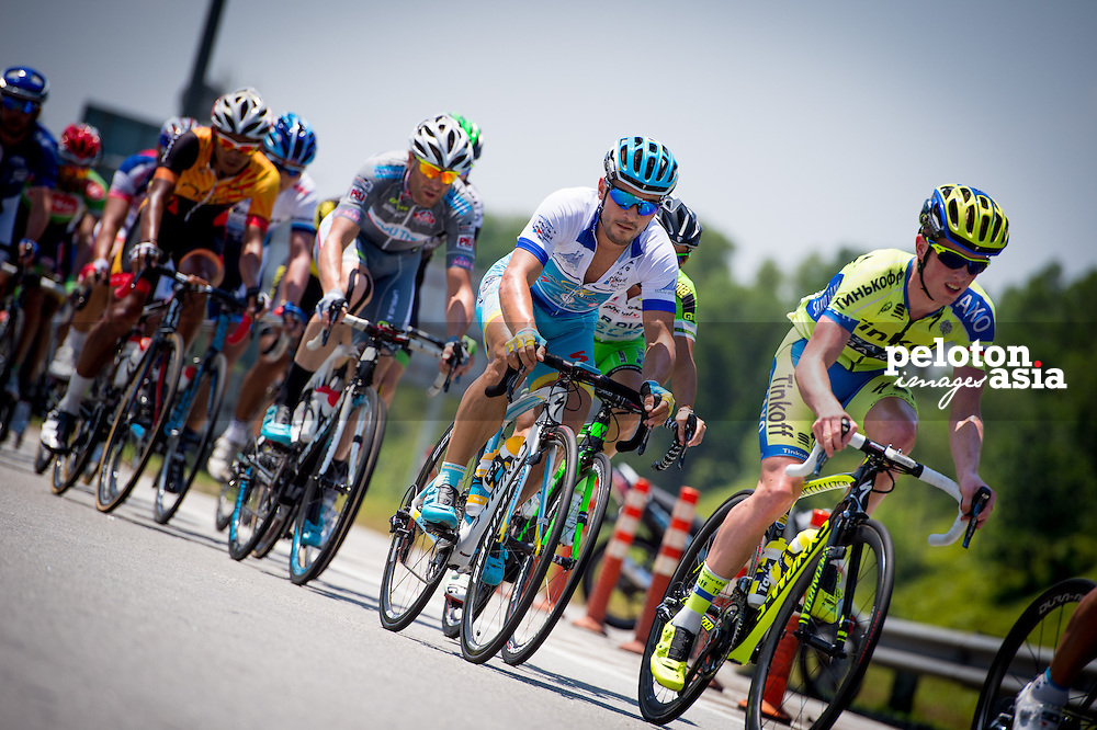 Le Tour de Langkawi 2015/ Stage7/ Shah Alam -Fraser's Hill/ Astana/ Guardini,Andrea