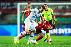KURTIC Jasmin of Slovenia vs BAUMGARTLINGER Julian of Austria during the 2020 UEFA European Championships group G qualifying match between Slovenia and Austria at SRC Stozice on October 13, 2019 in Ljubljana, Slovenia. Photo by Peter Podobnik / Sportida