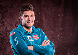 08.10.2017, Intersport Bründl, Kaprun, AUT, Michael Matt im Portrait, im Bild der Österreichische Skirennläufer Michael Matt posiert während einer Fotosession // the Austrian ski racer Michael Matt poses for a portrait during a photo session at the Intersport Bründl, Austria on 2017/10/08. EXPA Pictures © 2017, PhotoCredit: EXPA/ JFK