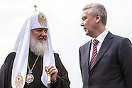 Sobyanin and Kirill Election Photo Op