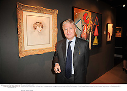 CHRISTOPHER MORAN owner of Crosby Hall in Chelsea at a preview evening of the annual London LAPADA (The Association of Art & Antiques Dealers) antiques Fair held in Berkeley Square, London on 21st September 2010. *** Local Caption *** Image free to use for 1 year from image capture date as long as image is used in context with story the image was taken.  If in doubt contact us - info@donfeatures.com<br /> CHRISTOPHER MORAN owner of Crosby Hall in Chelsea at a preview evening of the annual London LAPADA (The Association of Art & Antiques Dealers) antiques Fair held in Berkeley Square, London on 21st September 2010.