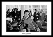 Muhammad Ali at Dublin Airport<br />