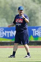RAFAEL BENITEZ <br /> Dimaro (Brunico) 14.7.2013 <br /> Football Calcio 2013/2014 Serie A<br /> Ritiro precampionato SSC Napoli <br /> SSC Napoli pre season training<br /> Foto Ciro De Luca / Insidefoto