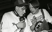 808 State Members Talking, Piccadilly Club, Manchester, 1989.