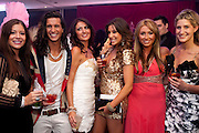 ESSEX MEETS CHELSEA; SADE METCALFE; OLLIE LOCKE; LYDIA BRIGHT; GABRIELLA ELLIS; LAUREN GOODGER;  CHESKA HULL; , The London Bar and Club awards. Intercontinental Hotel. Park Lane, London. 6 June 2011. <br /> <br />  , -DO NOT ARCHIVE-© Copyright Photograph by Dafydd Jones. 248 Clapham Rd. London SW9 0PZ. Tel 0207 820 0771. www.dafjones.com.