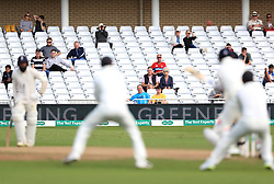 Spectators watch the match action during day five of the Specsavers Third Test match at Trent Bridge, Nottingham.