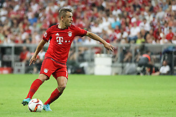 04.08.2015, Allianz Arena, Muenchen, GER, AUDI CUP, FC Bayern Muenchen vs AC Mailand, im Bild Rafinha (FC Bayern Muenchen #13) // during the 2015 AUDI Cup Match between FC Bayern Muenchen and AC Mailand at the Allianz Arena in Muenchen, Germany on 2015/08/04. EXPA Pictures © 2015, PhotoCredit: EXPA/ Eibner-Pressefoto/ Schüler<br /> <br /> *****ATTENTION - OUT of GER*****