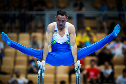 Alen Dimic of Slovenia at Parallel Bars during Qualifications of Artistic Gymnastics FIG World Challenge Koper 2018, on June 1, 2017 in Arena Bonifika, Koper, Slovenia. Photo by Matic Klansek Velej/ Sportida