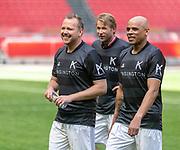 Johan Cruijff ArenA, Amsterdam. FC Kensington vs FC Coen en Sander. Op de foto: Jamai Loman, Leo Alkemade en Glenn Helder