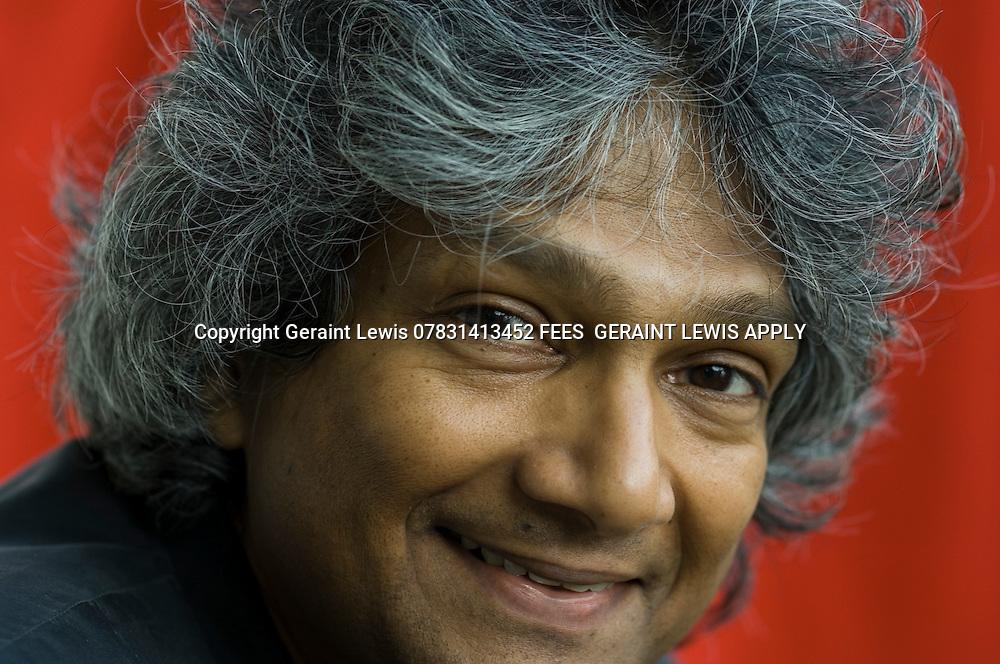 Romesh Gunesekera,Sri Lankan author.Writes about cricket CREDIT Geraint Lewis