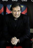 Lecce (LE), 16-01-2011 ITALY - Italian Soccer Championship Day 20 -  Lecce - Milan..Pictured: Allegri, mister Milan..Photo by Giovanni Marino/OTNPhotos . Obligatory Credit