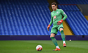 Alex McCarthy with the control during the Final Third Development League match between U21 Crystal Palace and U21 Bristol City at Selhurst Park, London, England on 3 November 2015. Photo by Michael Hulf.