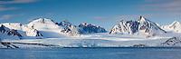 Magdalenafjorden, Spitsbergen, Svalbard