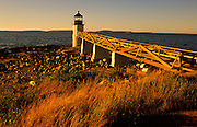 Marshall Point Lighthouse in Port Clyde, Maine, USA