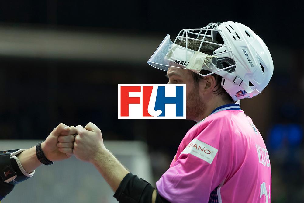 Hockey, Seizoen 2017-2018, 08-02-2018, Berlijn,  Max-Schmelling Halle, WK Zaalhockey 2018 MEN, Poland - Germany 3-6, WALTER Tobias (GK) (GER).