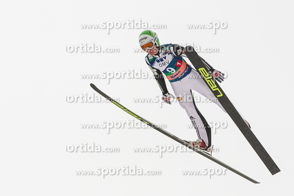 Prevc Cene of Slovenia during Large Hill Team Event at 3rd day of FIS Ski Jumping World Cup Finals Planica 2014, on March 22, 2014 in Planica, Slovenia. Photo by Grega Valancic / Sportida