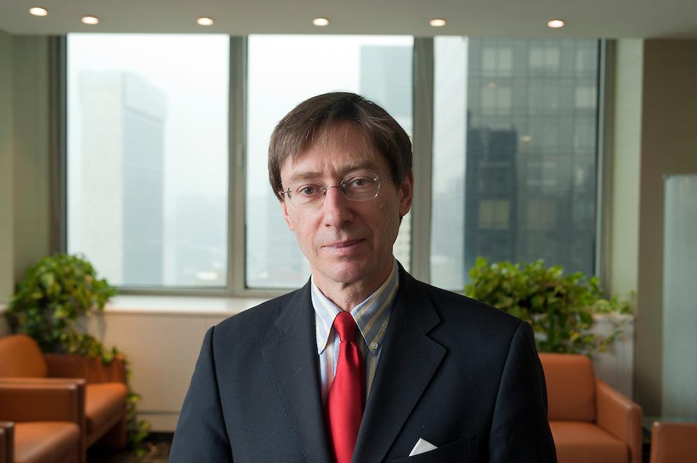 Deutschlands UN-Botschafter Dr. Peter Wittig im Haus des deutschen Konsulats in New York. ..
