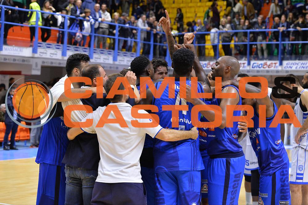 Hunt Dario, Landry marcus<br /> Happycasa Brindisi - Germani Basket Brescia<br /> Legabasket serieA2017-2018<br /> Brindisi , 29/10/2017<br /> Foto Ciamillo-Castoria/M.Longo