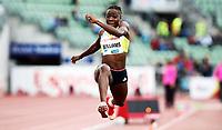 Friidrett , 13. juni 2013 , Diamond League , Bislett Games<br /> Athletics<br /> Kimberly Williams , JAM<br /> triple jump