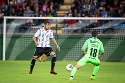 Aleksandar Boškovič of Mura during Football match between NS Mura (SLO) and Maccabi Haifa (IZR) in First qualifying round of UEFA Europa League 2019/20, on July 18, 2019, in Stadium Fazanerija, Murska Sobota, Slovenia. Photo by Blaž Weindorfer / Sportida