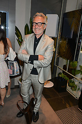 STEPHEN BAYLEY at the Piaget Mediterranean Garden Summer Party held at Piaget, 169 New Bond Street, London on 15th July 2015.