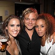 NLD/Amsterdam/20080909 - 18de Verjaardag Melody Klaver, Floortje Smit, Sander Foppele en Glennis Grace