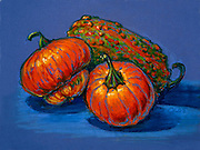 Still life Chalk Pastel by Candace Lourdes 2005
