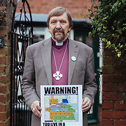 North Yorkshire - Pix of peopleconcerened about fracking in the Vale of Pickering - Graham Cray - ex Bishop of Maidstone