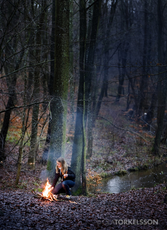 Calill Odqvist, CEO,  Light my fire.<br /> Photo Ola Torkelsson &copy;.