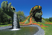 Plant sculpture, Mosaiculture Exposition, Montreal, Province Quebec, Canada