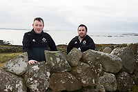 10/01/2018 Eamonn O Cual&aacute;in and Michael Coyne   in Cill Chiarain Co. Galway which has been depleted of population .<br />   .Photo:Andrew Downes, XPOSURE