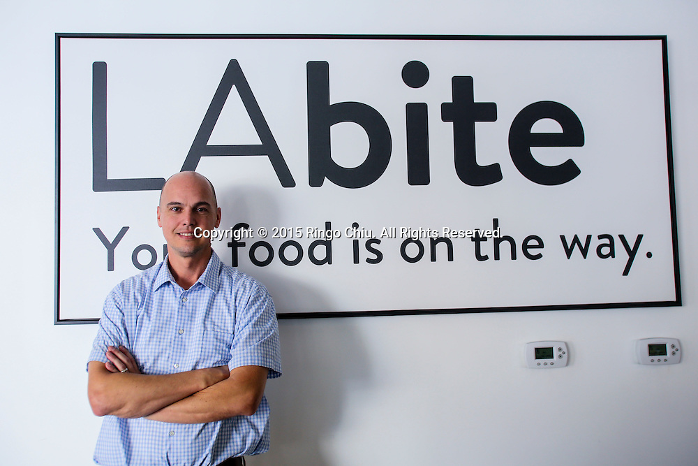 Ken Fisher, co-founder of LA Bites.<br /> (Photo by Ringo Chiu/PHOTOFORMULA.com)<br /> <br /> Usage Notes: This content is intended for editorial use only. For other uses, additional clearances may be required.