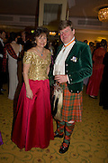 LADY LOWSON AND THE EARL OF EROLL, The Royal Caledonian Ball 2008. In aid of the Royal Caledonian Ball Trust. Grosvenor House. London. 2 May 2008.  *** Local Caption *** -DO NOT ARCHIVE-? Copyright Photograph by Dafydd Jones. 248 Clapham Rd. London SW9 0PZ. Tel 0207 820 0771. www.dafjones.com.