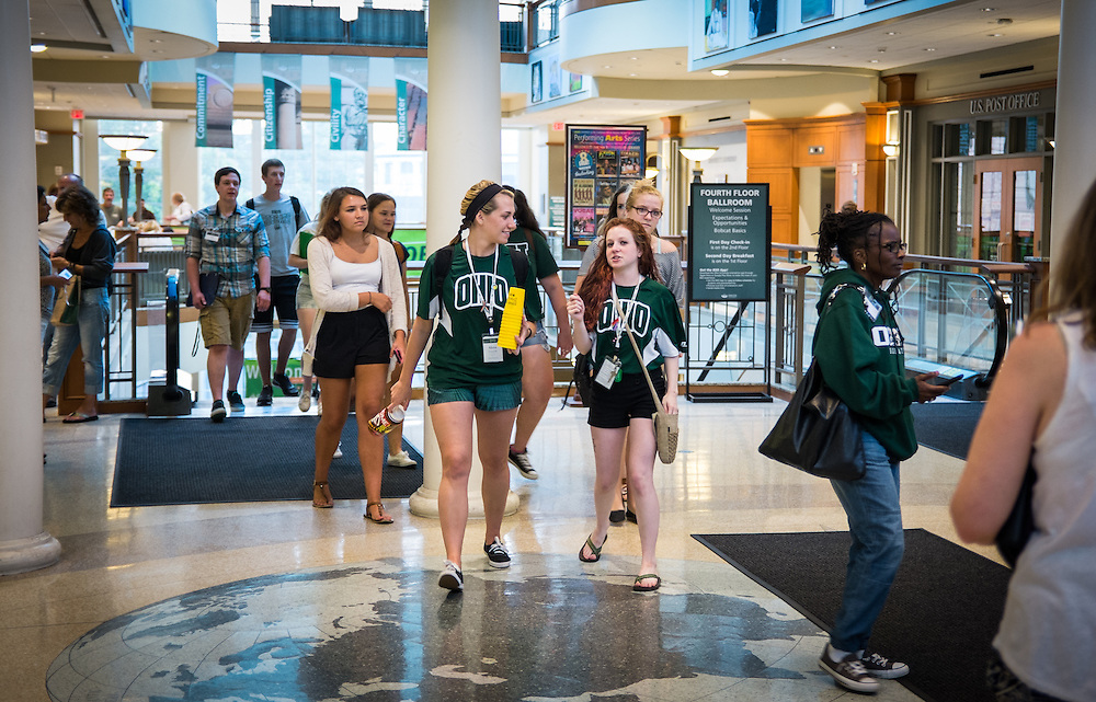 Members of the Class of 2019 attended Bobcat Student Orientation on Thursday, June 4, 2015.  Photo by Ohio University  /  Rob Hardin
