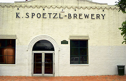 The Spoetzl Brewery in Shiner, Texas