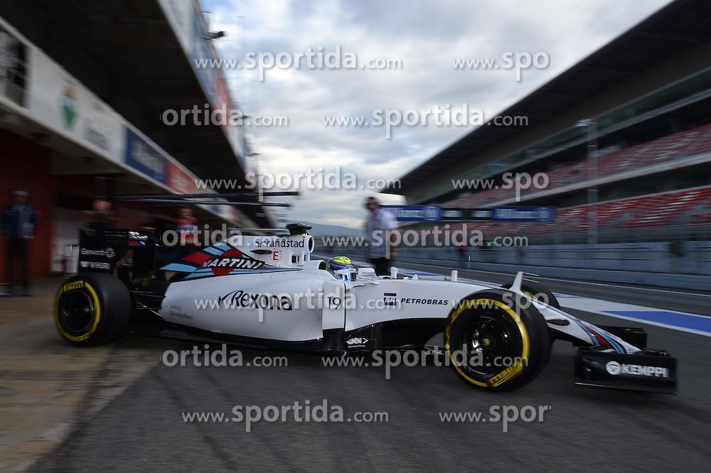 26.02.2015, Circuit de Catalunya, Barcelona, ESP, FIA, Formel 1, Testfahrten, Barcelona, Tag 1, im Bild Felipe Massa (BRA) Williams FW37 // during the Formula One Testdrives, day one at the Circuit de Catalunya in Barcelona, Spain on 2015/02/26. EXPA Pictures &copy; 2015, PhotoCredit: EXPA/ Sutton Images/ Mark Images<br /> <br /> *****ATTENTION - for AUT, SLO, CRO, SRB, BIH, MAZ only*****