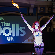 Body art fans have their tattoo was done by artists as hundreds flock to London, UK for The Great British Tattoo Show feature Tattoo Contests and The Doll UK on May 26, 2018.