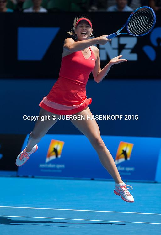 Maria Sharapova (RUS)<br /> <br /> Tennis - Australian Open 2015 - Grand Slam ATP / WTA -  Melbourne Olympic Park - Melbourne - Victoria - Australia  - 25 January 2015.