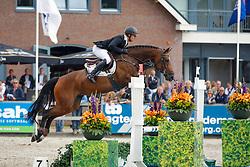 342 - Eletta Molino - Houwen Kristian<br /> 5 Jarige Finale Springen<br /> KWPN Paardendagen - Ermelo 2014<br /> © Dirk Caremans