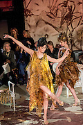 January 25, 2017, Paris, France. Models during the Franck Sorbier Haute Couture Spring Summer 2017 fashion show during the Paris Fashion Week.  <br /> <br /> 25 janvier 2017, Paris, France. Mannequins pendant le défilé Haute Couture Printemps été 2017 de Franck Sorbier lors de la Fashion Week de Paris.