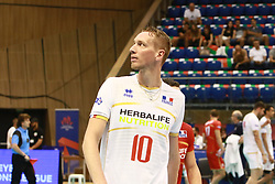 June 16, 2018 - Varna, Bulgaria - Kevin LE ROUX (France), .mens Volleyball Nations League,week 4, Brazil vs Francel, Palace of culture and sport, Varna/Bulgaria, June 16, 2018, the fourth of 5 weekends of the preliminary lap in the new established mens Volleyball Nationas League takes place in Varna/Bulgaria. (Credit Image: © Wolfgang Fehrmann via ZUMA Wire)