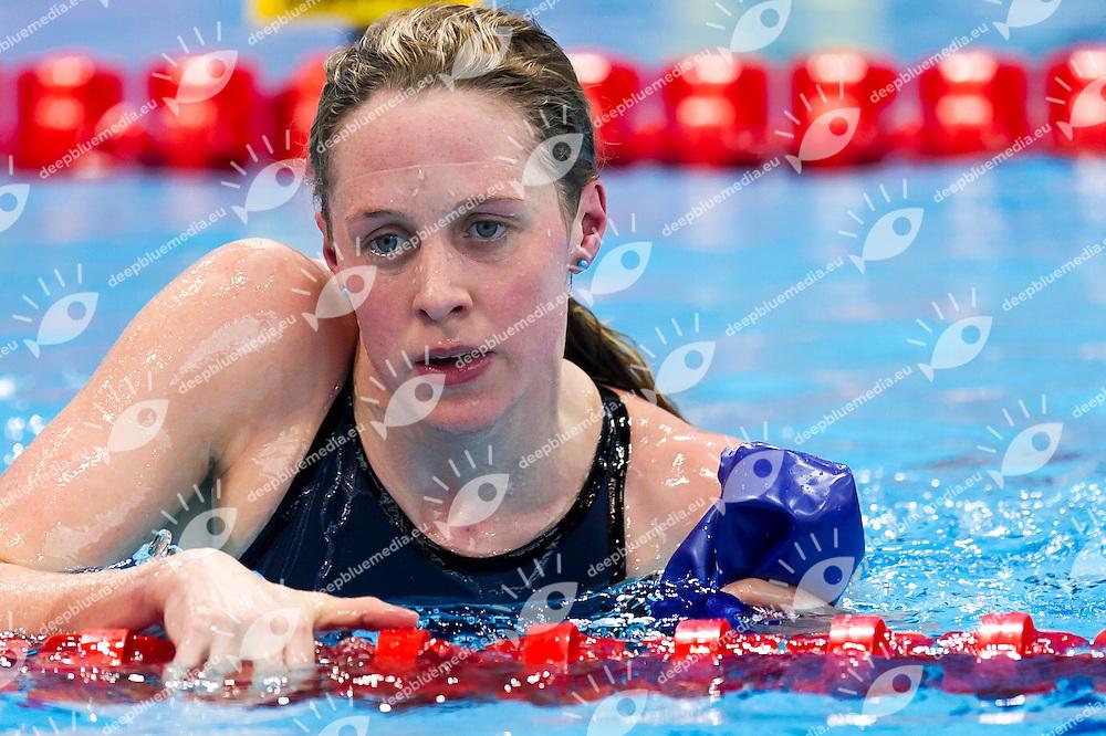 MILEY Hannah GBR<br /> London, Queen Elizabeth II Olympic Park Pool <br /> LEN 2016 European Aquatics Elite Championships <br /> Swimming<br /> Women's 200m medley preliminary  <br /> Day 10 18-05-2016<br /> Photo Giorgio Perottino/Deepbluemedia/Insidefoto