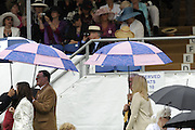 Henley, GREAT BRITAIN, General View in the the Stewards Enclousure. 2008 Henley Royal Regatta, on  Wednesday, 02/07/2008,  Henley on Thames. ENGLAND. [Mandatory Credit:  Peter SPURRIER / Intersport Images] Rowing Courses, Henley Reach, Henley, ENGLAND . HRR Umbrella's