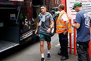 Leeds United midfielder Pablo Hernandez (19) arriving  during the EFL Sky Bet Championship match between Bristol City and Leeds United at Ashton Gate, Bristol, England on 4 August 2019.