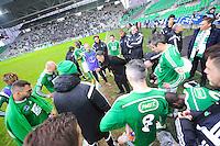 Christophe GALTIER / Groupe Saint Etienne - 04.01.2015 - Saint Etienne / Nancy - Coupe de France<br /> Photo : Jean Paul Thomas / Icon Sport