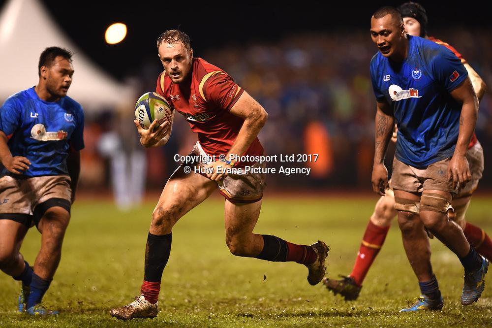 23.06.17 - Samoa v Wales -<br /> Cory Allen of Wales.<br /> Copyright photo: Ben Evans / www.photosport.nz