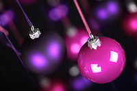 Christmass bauble - studio shot